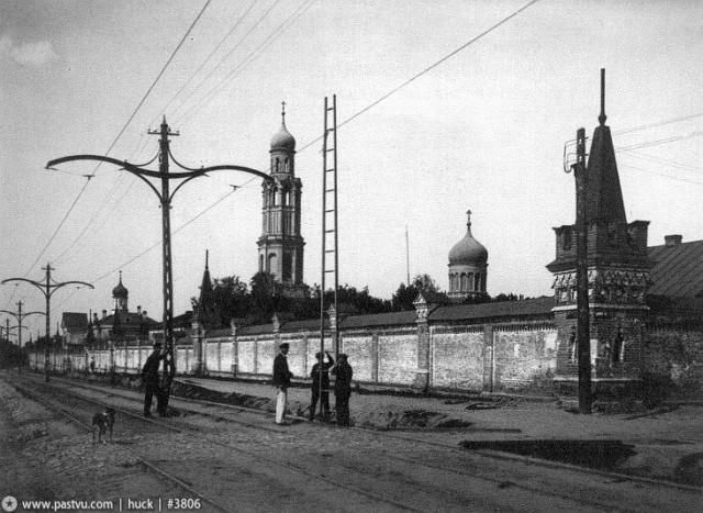 Всехсвятский монастырь (снесён 1934).