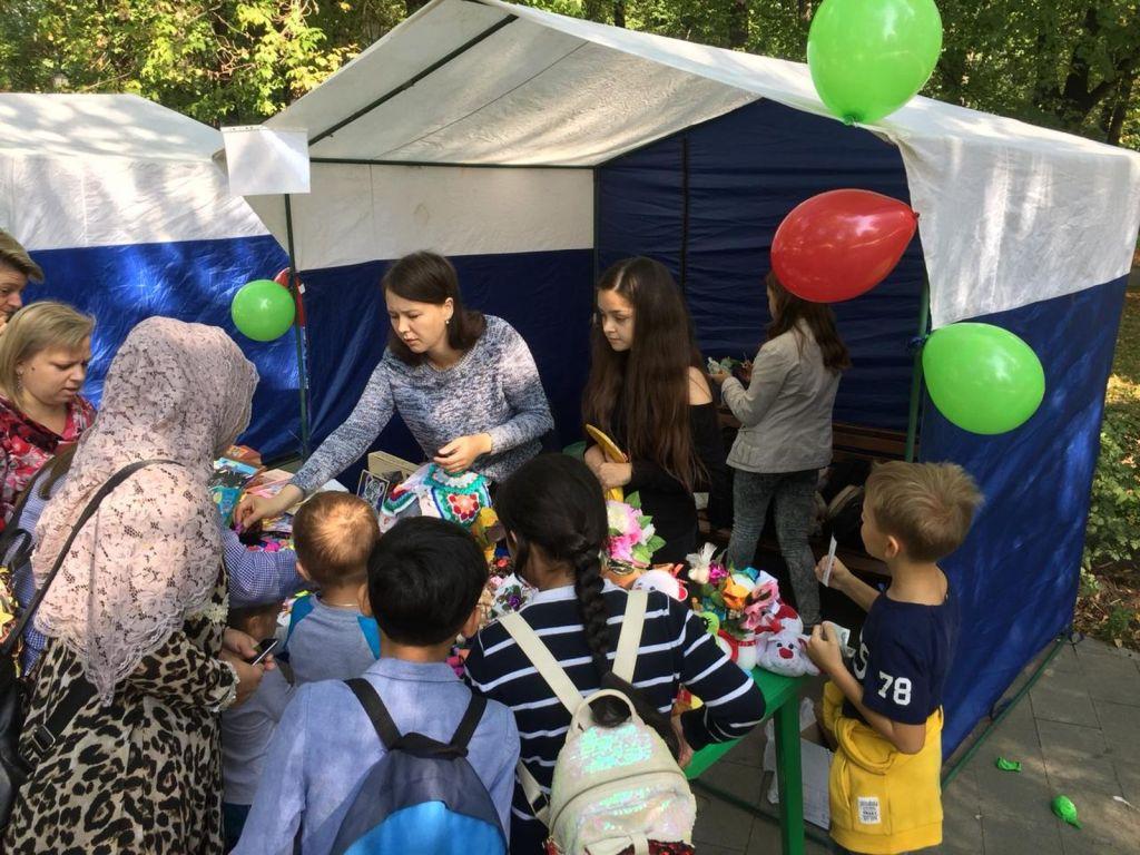 Детская благотворительная ярмарка-141